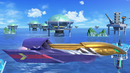 The stage Big Blue in Super Smash Bros. Ultimate.