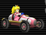 Peach's Classic Dragster from Mario Kart Wii