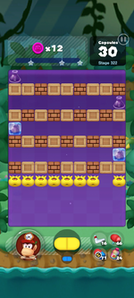 Stage 322 from Dr. Mario World