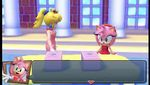 A screenshot from the video game Mario & Sonic at the London 2012 Olympic Games.