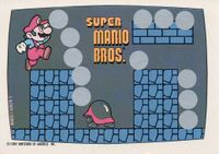 A Nintendo Game Pack scratch-off game card of Super Mario Bros. (Screen 5 of 10)