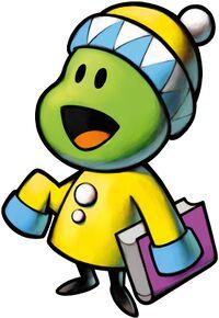 Artwork of a Pea from Mario & Luigi: Superstar Saga