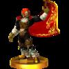 SSB4 Trophy Ganondorf (Ocarina of Time).png