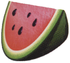 Artwork of a Watermelon slice from Donkey Kong 64.