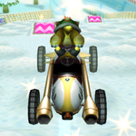 Bowser Jr. performing a Trick in Mario Kart Wii
