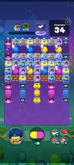 World 17's Special Stage from Dr. Mario World