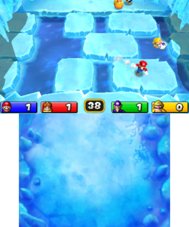 Go with the Floe in Mario Party: Island Tour