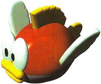 Artwork of a Goby for Super Mario RPG: Legend of the Seven Stars