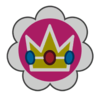 Baby Peach emblem from Mario Kart 8