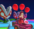 The icon of the King Boo Cup challenge from the Los Angeles Tour in Mario Kart Tour.