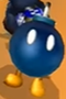 Different Bob-omb colors in Mario Kart Wii.