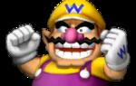Sprite of Wario winning, from Mario Party 8