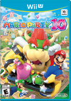 North American cover art of Mario Party 10.
