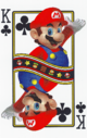 The King of Clubs card from the NAP-03 deck.