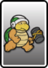 A Sledge Bro card from Paper Mario: Color Splash