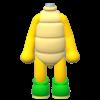 """The """"Koopa Troopa Suit"""" Mii costume"""