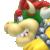 Bowser icon in Super Mario Maker 2 (New Super Mario Bros. U style)