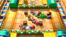 Train in Pain from Super Mario Party