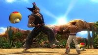 Mega Mushrooms in Tekken Tag Tournament 2