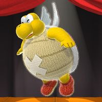 Knot-Wing the Koopa in the Scrapbook Theater