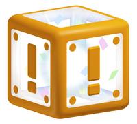 A Warp Box from Super Mario 3D Land.