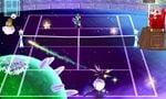 A blue Chance Shot from Mario Tennis Open