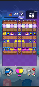 World 5's Special Stage from Dr. Mario World