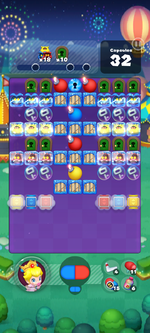 Stage 671 from Dr. Mario World
