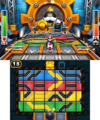 King Bob-omb's Court of Chaos from Mario Party: Island Tour