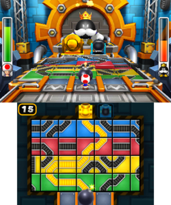 King Bob-omb's Court of Chaos‎ from Mario Party: Island Tour