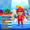 Propeller Mario Mii Costume in the game Mario & Sonic at the London 2012 Olympic Games for the Wii.
