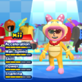 Wendy O. Koopa Mii Costume in the game Mario & Sonic at the London 2012 Olympic Games for the Wii.
