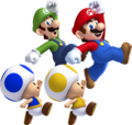 NSMBU Four Characters Jumping Artwork.png