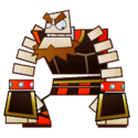 O'Chunks's sprite from Super Paper Mario.