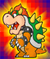 The Catch Card of Bowser from Super Paper Mario