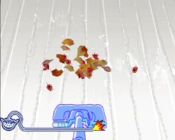 Sping Cleaning in WarioWare: Smooth Moves.