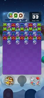 Stage 1200 from Dr. Mario World