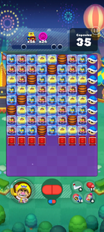 Stage 656 from Dr. Mario World