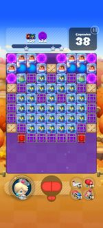 Stage 831 from Dr. Mario World