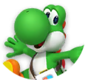 Icon of Dr. Yoshi from Dr. Mario World