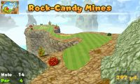 Hole 14 of Rock-Candy Mines (golf course) in Mario Golf: World Tour