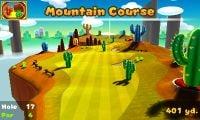 Hole 17 of Mountain Course in Mario Golf: World Tour