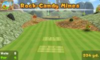 Hole 5 of Rock-Candy Mines (golf course) in Mario Golf: World Tour