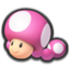 Toadette's head icon in Mario Kart 8