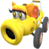 Yellow Turbo Birdo from Mario Kart Tour