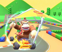 The icon of the Monty Mole Cup challenge from the Wild West Tour and the Koopa Troopa Cup challenge from the Wedding Tour in Mario Kart Tour.
