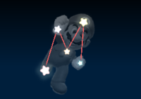 Mario's constellation in the game Mario Party 9.