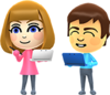 Miis in Mario & Sonic at the Rio 2016 Olympic Games