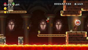 NSMBU Roy's Conveyor Castle Screenshot.png