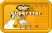 Superstar Pack icon from Boost Rush Mode in New Super Mario Bros. U.